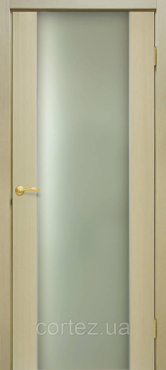 Межкомнатные двери шпон Премьера ПО дуб беленый