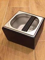 Нок-бокс деревянный c емкостью из нержавеющей стали (темно-коричневый), 1.6 л