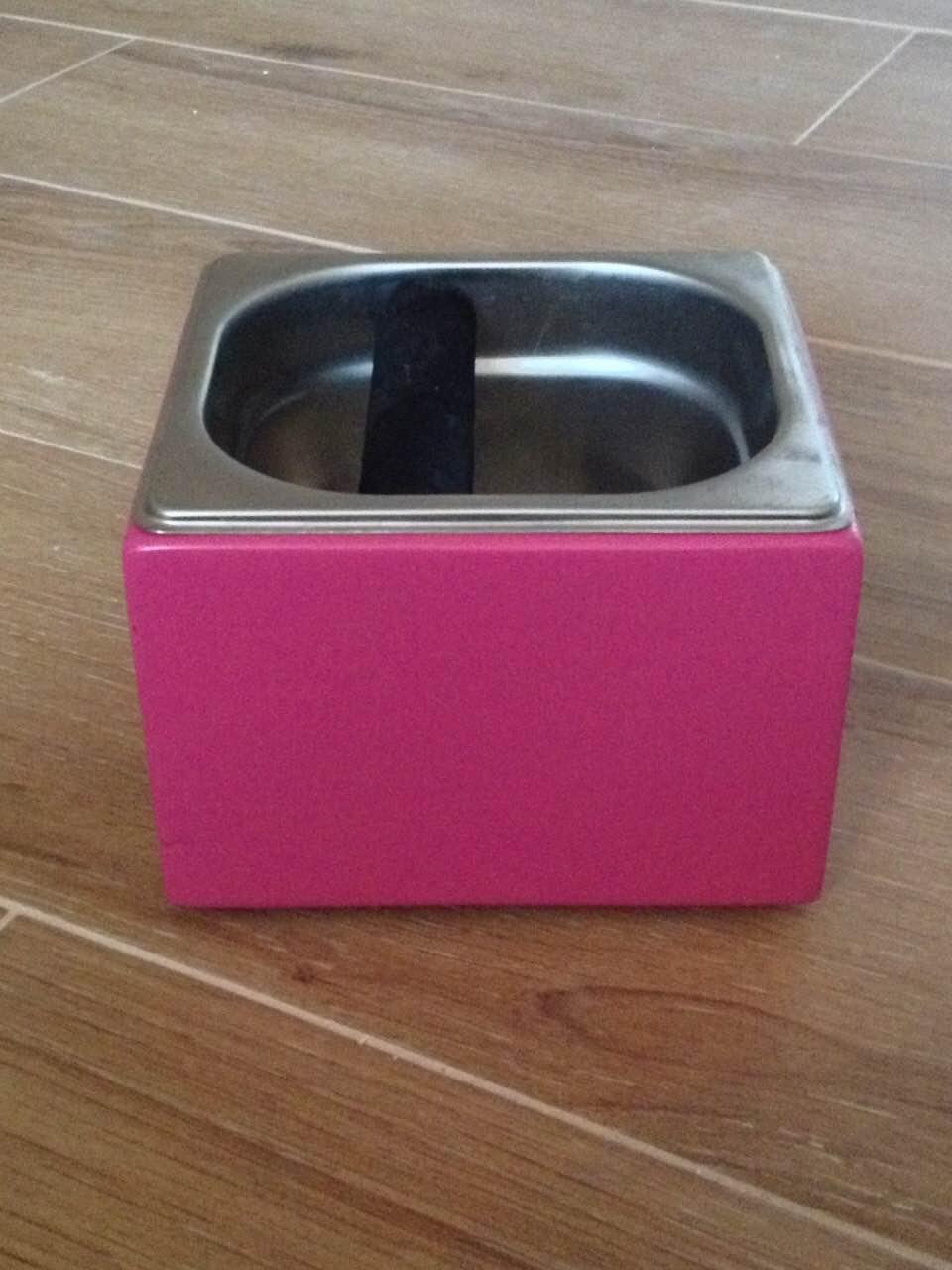 Нок-бокс деревянный c емкостью из нержавеющей стали (тонированный цветной), 1.6 л