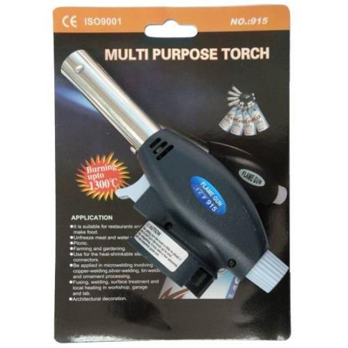 Газовий пальник Multi Purpose Torch Piezo Ignition HF-603 №915