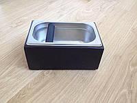 Нок-бокс деревянный c емкостью из нержавеющей стали,(темно-коричневый), 2.7 л