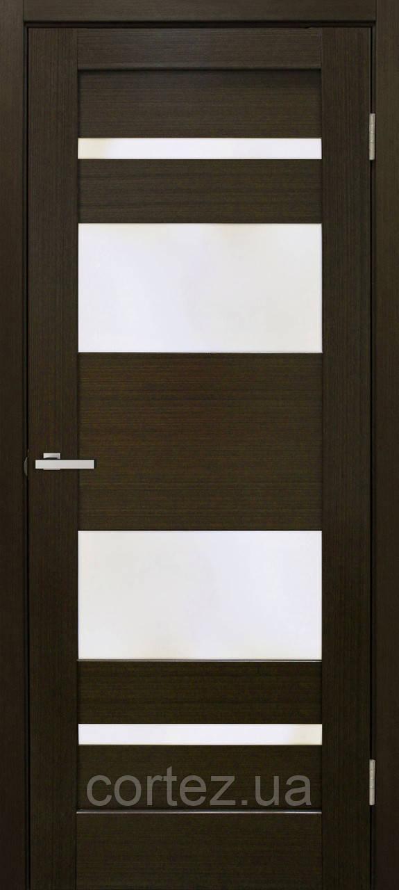 Межкомнатные двери пвх Берлин ПО венге FL