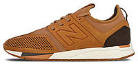 Мужские кроссовки New Balance MRL 247 TA Luxe Pack Brown (Нью Баланс) коричневые