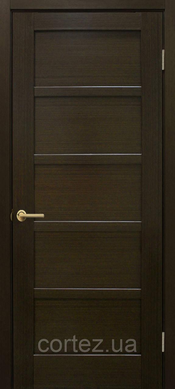 Межкомнатные двери пвх Вена ПГ венге FL