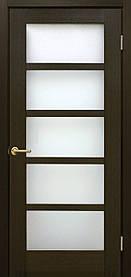 Межкомнатные двери пвх Вена ПО венге FL
