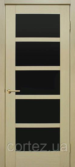 Межкомнатные двери пвх Вена ЧС дуб беленый FL