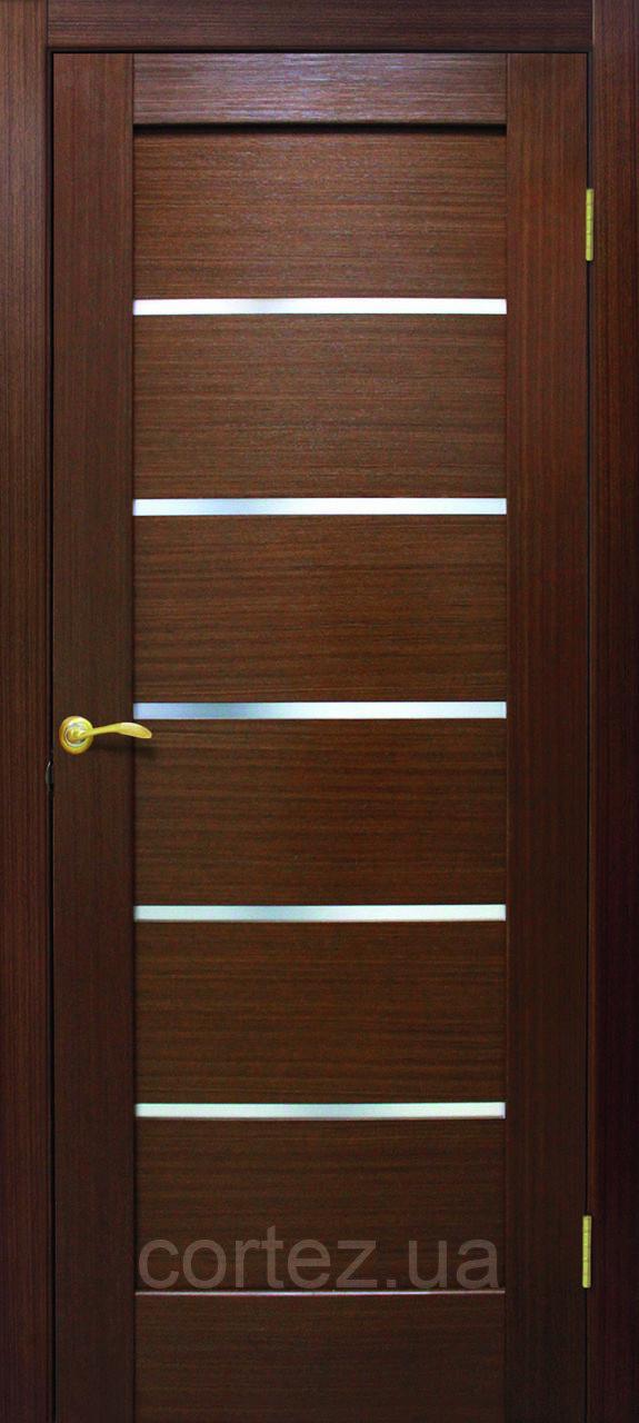 Межкомнатные двери пвх Токио ПО орех FL