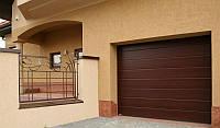 Ворота гаражные секционные Alutech 2500*2460