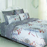 Комплект постельного белья теп в серых цветах