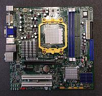 Плата под AMD sam2 Foxconn 125W УЦЕНКА!!! ПОНИМАЕТ ЛЮБЫЕ 2-4 ЯДРА ПРОЦЫ Athlon X2 и PHENOM X3, X4  am2 +