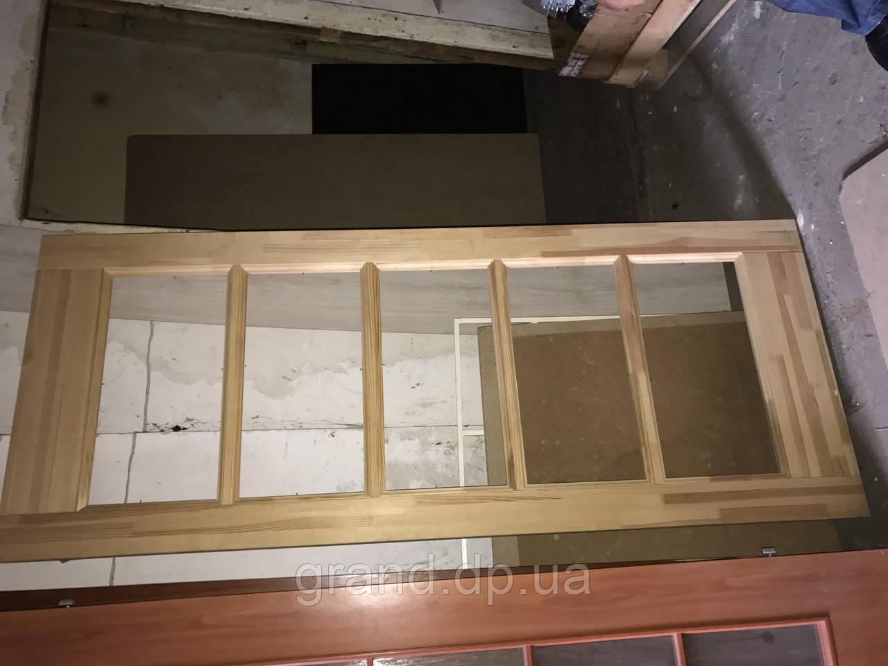 Дверь межкомнатная 12 деревянная 800мм без стекла