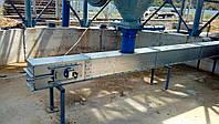 Конвейер цепной скребковый-100 т/ч