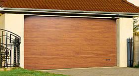 Ворота гаражные секционные 2500 x 2000
