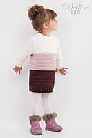 Вязанный детский свитер для девочек