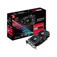 Видеокарта Radeon RX 560, Asus, 4Gb DDR5, 128-bit, DVI/HDMI/DP, 1300/7000MHz, 6-pin (RX560-4G)