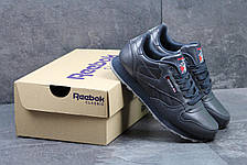 Кроссовки Reebok Classic подростковые, синие 40р, фото 3