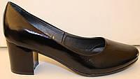 Кожаные туфли женские на каблуке, кожаные женские туфли от производителя модель ВМ73