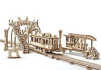 Механический 3D-пазл трамвайная линия «UGEARS»