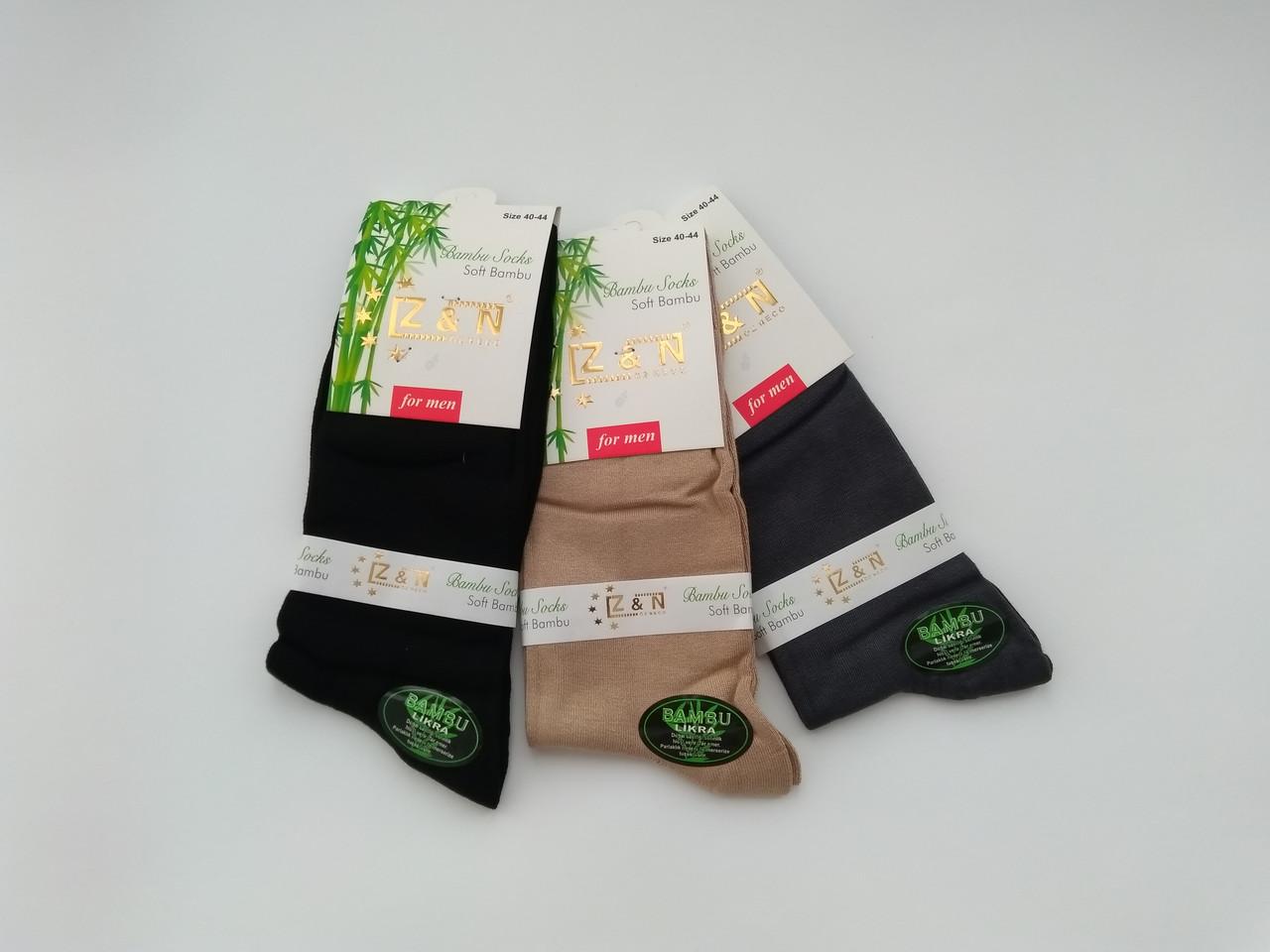 Чоловічі шкарпетки ZN бамбук