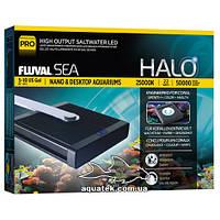 Светильник для морских нано аквариумов Fluval HАLO Marine Аnd Reef Nano Pro LED