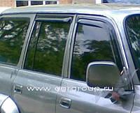 Дефлекторы окон EGR Toyota Land Cruiser 80 5d 1989-1998