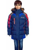 Зимняя  куртка с натуральным мехом