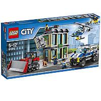 Конструктор LEGO City Ограбление на бульдозере Lego City 60140 Bulldozer Break