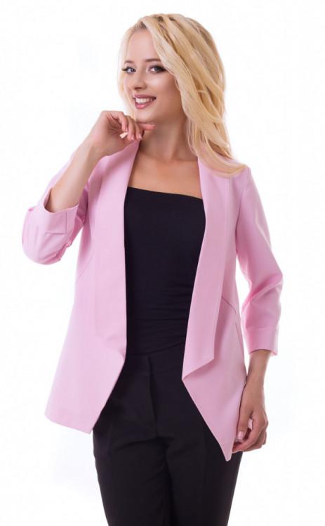 Женский пиджак с отложным воротником