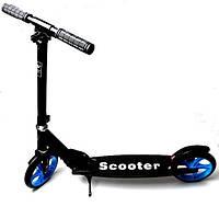 Двухколесный самокат Smart Scooter Black
