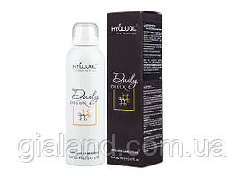 Спрей для лица Hyalual Daily Delux новый производство Италия