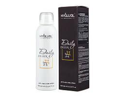 Спрей для обличчя Hyalual Daily Delux новий виробництво Італія