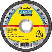✅ Круг отрезной Klingspor (Kronenflex®) A 60 TZ Spesial Ø 115 х 1.0 х 22.23 мм (GER)