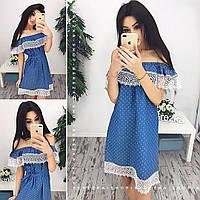 Платье (S-M) — джинса купить в розницу в одессе  7км