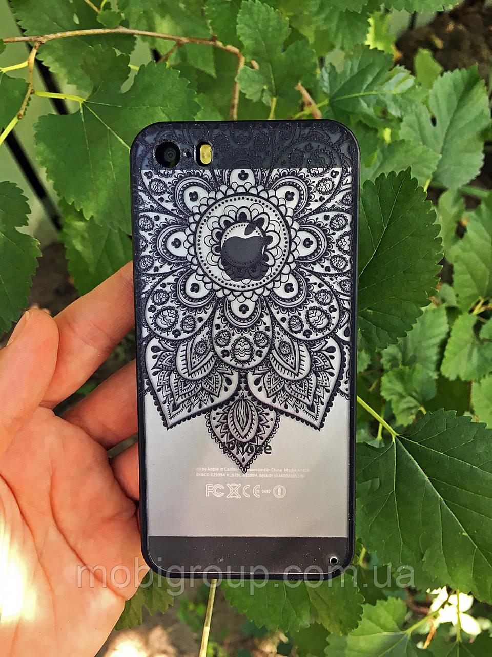 Чехол Кружево iPhone SE/5S/5