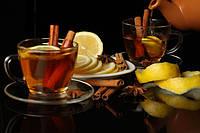 Чай черный с яблоками и корицей 350ml