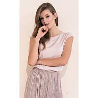 Женская летняя блузка цвета пудры Vivian Zaps
