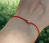 Красная нить с Swarovski Crystal   Redline