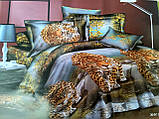Комплект двуспального постельного белья ренфорс, фото 5