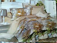 Комплект полуторного постельного белья ренфорс, фото 1