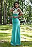 Платье микромасло двухцветное