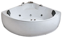 Ванна акриловая с гидромассажем IRIS TLP-651