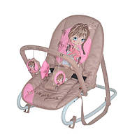 Кресло-качалка Top Relax Beige&Rose Princess