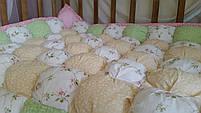 Детское одеялко зефирное. Ручная работа. хлопковое. , фото 2