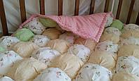 Детское одеялко зефирное. Ручная работа. хлопковое. , фото 3