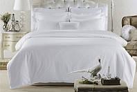 Постельное белье Lotus Отель - Сатин Классик белый семейный (Турция)