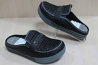 Кроксы шлепанцы на мальчика, пляжная обувь тм Super Gear р.30, фото 2