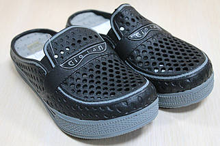Кроксы шлепанцы на мальчика, пляжная обувь тм Super Gear р.30, фото 3