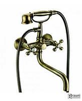 Emmevi (Италия) Смеситель для ванны Emmevi Deco old BR12011CC бронза