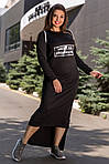 """Женское платье батал """"Хадиса"""", фото 3"""