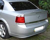 Спойлер лип багажника Opel Vectra C 2004-2012
